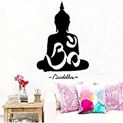 WINOMO Buda Pegatina de Pared Calcomanías de Arte Decoración 30 * 45cm