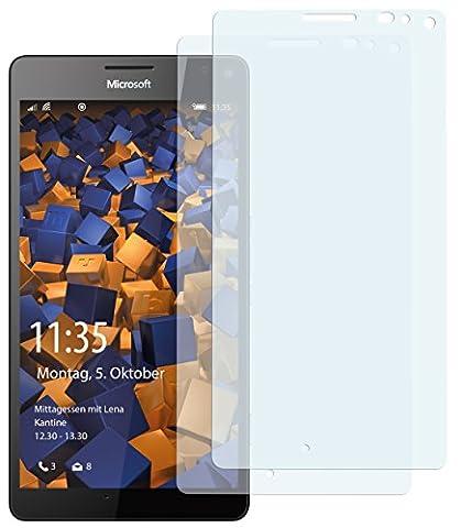 2 x mumbi Displayschutzfolie Microsoft Lumia 950 XL