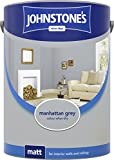 Best Emulsion Paints - Johnstone's 307781 5 Litre Matt Emulsion Paint Review