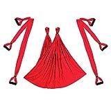 Provide The Best Aerial Yoga Swing Flying Hamaca Conjunto antigravedad 6 empuñadura Silla Colgante de Fitness Kit Pilates oscilación de la Correa