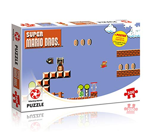 Puzzle Super Mario Bros. High Jumper mit 500 Teilen  (8-Bit Motiv) Preisvergleich