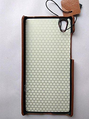 sale retailer 956b7 e83ab Dream2Cool Pierre Cardin Genuine Leather Back Case Cover for Vivo Y51/Y51L  - Dark Brown
