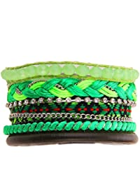 Morella Damen Armband im Ibiza Style Brasilien Look // verschiedene Modell wählbar