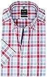 OLYMP Herren Hemd Modern Fit Kurzarm rot (74) 42