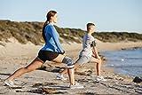 Bonmedico® Celo, die fixierbare Kniebandage sorgt für mehr Stabilität beim Sport und im Alltag, wirkt schmerzlindernd bei Gelenkkrankheiten wie Arthrose, schützt beim Laufen und Joggen, für Damen und Herren, rechts und links tragbar - 5