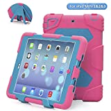 Ipad mini Case, ACEGUARDER® Best Silicone Cover for kids Rainproof Shockproof for Apple