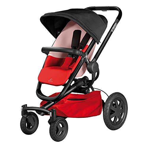 Quinny 79609730 - Buzz Xtra Buggy, Sportbuggy und Travelsystem, reworked red
