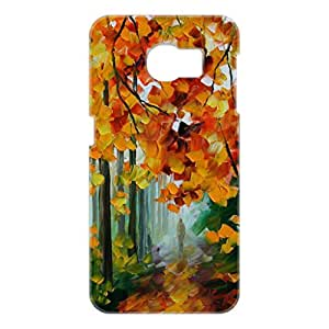 a AND b Designer Printed Mobile Back Cover / Back Case For Samsung Galaxy S6 Edge (SG_S6_3D_1624)