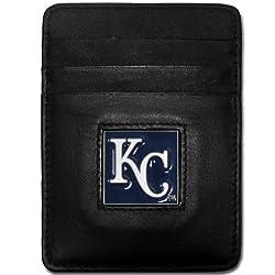MLB Kansas City Royals Leather Money Clip/Cardholder