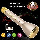 Tragbares Drahtloses Karaoke Mikrofon, mit Bluetooth-Lautsprecher.Geeignet für PC,Laptop,IPhone,IPod, Android Smartphone´s und andere Bluetooth kompatible Geräte