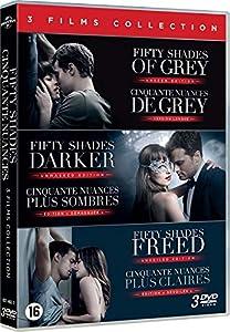 Cinquante Nuances - Fifty Shades : Coffret 3 Films [DVD]