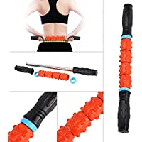 Roller Massage Stick Massagerolle zur Selbstmassage Muskel-Entspannung, 42cm