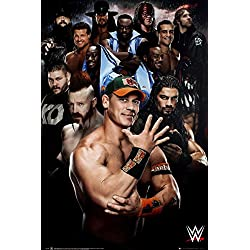 GB Eye, WWE, Superstars 2016, Maxi Poster, 61 x 91,5 cm