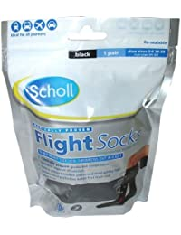 Scholl Cotton Feel Flight Socks (Sizes 3-6) Small 1 Pair Including P & P*