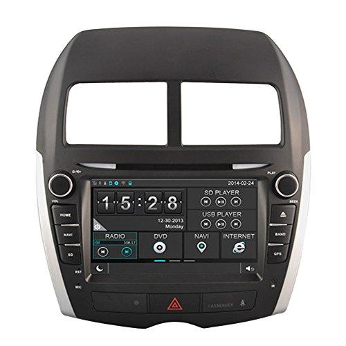 Witson® para 2011 2012 2013 Mitsubishi ASX satélite reproductor de DVD con navegadores GPS navegación HD Digital pantalla capacitiva/iPod Control/costándoles manos libres Bluetooth/Control del volante