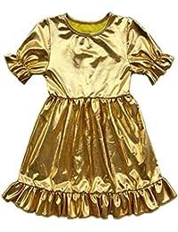 Coralup - Vestido - Túnica - Manga corta - para niña