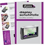 dipos I 3X Schutzfolie klar passend für Garmin zumo 660 LM Folie Displayschutzfolie