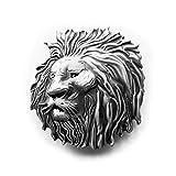 eeddoo Gürtelschnalle - König der Löwen (Buckle für Wechselgürtel für Damen und Herren | Belt Frauen Männer Oldschool Rockabilly Metall Gothic Wave Rock Biker Western Trucker Casino Skull)