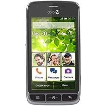 Doro 820 Mini - Terminal libre, Android 4.4.2, 512 MB, color negro y plata