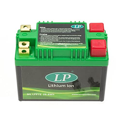 Landport lFP7Z mL, batterie lithium-ion (noir avec prix eUR à 7,50 nantissement)