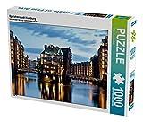 Speicherstadt Hamburg 1000 Teile Puzzle quer (CALVENDO Orte)