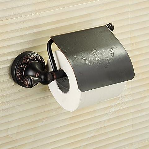 GFEI schwarze bronze toilettenpapier / voller kupfer papier handtuchhalter, toilettenpapierhalter / rollen papier - box, toilettenpapier papier rack