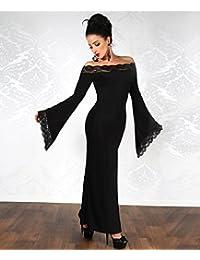 langes Kleid Kleid schwarz