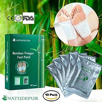 Detox Foot Patches, Foot Detox Pads 100% Natural Organic, Remove