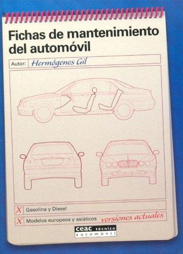 Fichas de mantenimiento del automovil por Hermogenes Gil