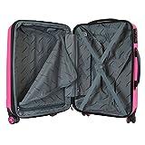 Packenger Premium Koffer 2er-Set Velvet, L/XL, Magenta - 2