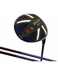 Japón Wazaki wl-iis negro aceite acabado MX acero Fairway Madera USGA PGA Golf Club + cubierta de cuero