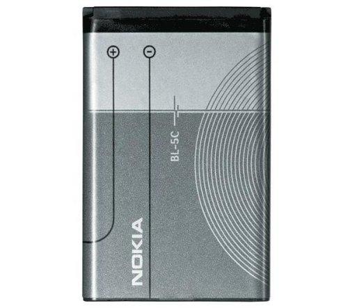 Nokia 0278812–Akku BL-5C, 850mAh, Li-Ion–Garantie: 1Y