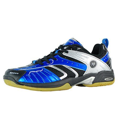 Oliver CX 300 Indoor Schuhe Squash Badminton Handball Blau/Schwarz/Silber