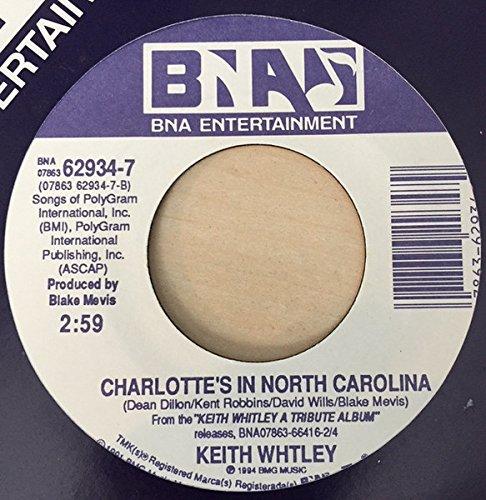 North Carolina Single (A Voice Still Rings True / Charlotte's In North Carolina [Vinyl Single 7''])