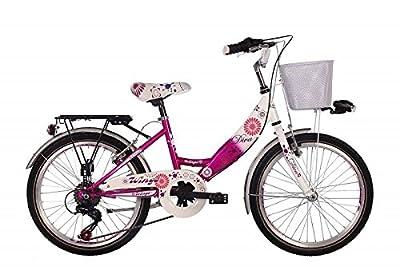 """20"""" 20 ZOLL Kinder Mädchen City Fahrrad Kinderfahrrad Cityfahrrad Mädchenfahrrad Rad Bike DIVA PINK"""