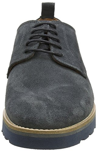 Trussardi Jeans 77a00028-9y099999, Baskets Basses Pour Homme Gris (gris Foncé)