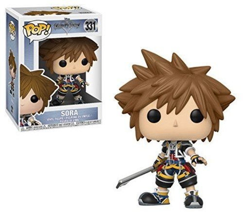 Funko 21759 Pop Disney:Kingdom Hearts - Figura de Vinilo Coleccionable Sora, 9,5 cm.