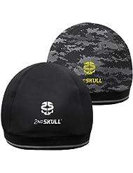 2nd Skull® CAP - Bonnet de Protection Pour Sportifs Amateurs et Pros - Réduction des chocs - Anti transpiration - Anti odeurs -Pour Sports de Contacts, Sports de Glisses, Rugby, Hockey, Football, BMX - Made in USA