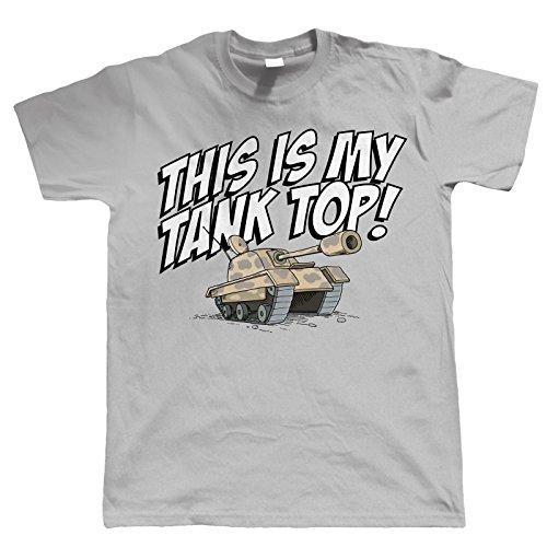 Vectorbomb, Das Ist My Tank Top, Herren Lustige T Shirt (S zu 5XL) Grau