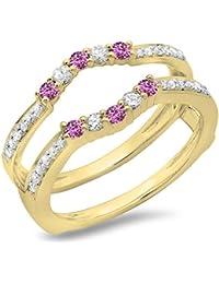 59e6bc2ae392 Amazon.es  Oro amarillo - Clásicos   Anillos de boda y compromiso  Joyería