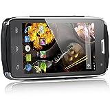 DOOGEE TITANS2 DG700 Smartphone Android 3G Etanche IP67 Anti-poussière Anti-choc Anti-Rayures 4,5 Pouces IPS Ecran 1Go RAM 8Go Dual SIM Caméra 5MP Compatible avec Orange Virgin Free etc (Noir)