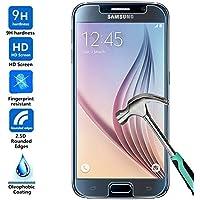 BisLinks–Cristal Templado, Film Protector de pantalla LCD para Samsung Galaxy S6