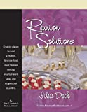 Go for it! Break out of the cookie-cutter molds that plagues many a reunion and plan an original, memorable, stunning, exceptional event! Reunion Solutions Idea Deck will help you create the kind of reunion your family, fellow soldiers, shipmates, co...