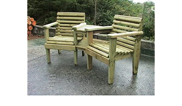 Awe Inspiring Douglas Fir Woodland Corner Garden Bench Amazon Co Uk Bralicious Painted Fabric Chair Ideas Braliciousco