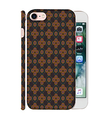Apple Iphone 7 Printed Back Case Cover From 99Sublimation ( Contort Pattern)
