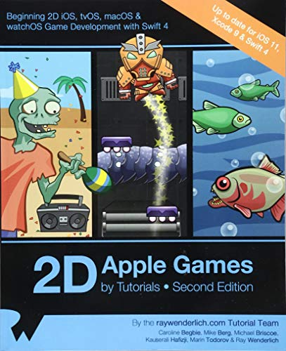 2D Apple Games by Tutorials Second Edition: Beginning 2D iOS, tvOS, macOS & watchOS Game Development with Swift 3 - Apple Com Iphone
