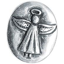 Moneda de plata con ángel de la guarda