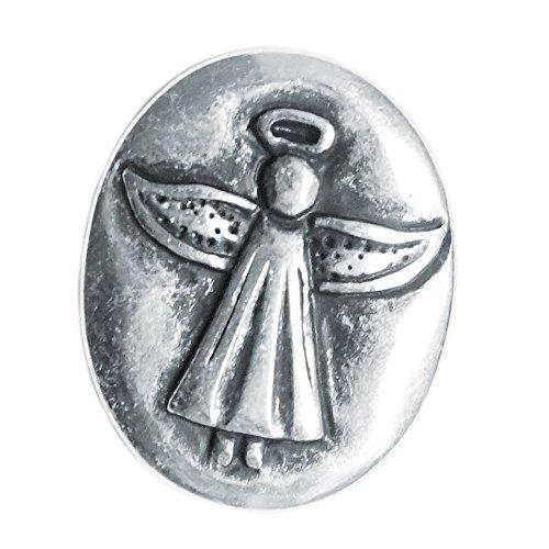 Spirit of Avalon Schutzengel Engel Münze (Ich Bin bei Dir) Guardian Angel - Handschmeichler Glück Schutz Kommunion Taufe Geburt Konfirmation