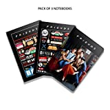 #10: Mc Sid Razz Friends TV Series Birthday Gift Set/Rakhi Gift Set- Combo pack of 3 Binded Notebook Notebook Licensed By Warner Bros. USA