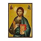 Ledicons Christian Icon of Jesus Christ, Catholic Icons and Orthodox Icons (Icono Cristiano de Jesucristo, Iconos católicos e Iconos ortodoxos), Icono de Jesucristo